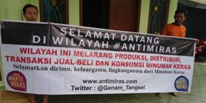 Loyalis Gerakan Nasional Anti Miras